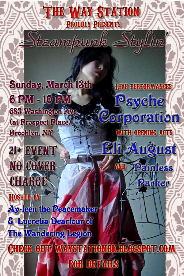 Airship ambassador news archive steampunk stylin march 13 6pm 10pm the way station brooklyn ny guaranteed major media coverage fandeluxe Image collections
