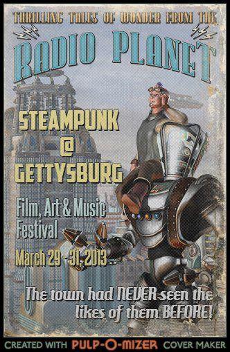 Steampunk at Gettysburg