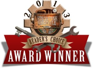 "2013 Winner for ""Best Politically-Minded Steampunk"" and ""Best Multicultural Steampunk"""