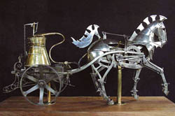 Steam Horse by 19th-century artist Alain Giller. Click for Source.