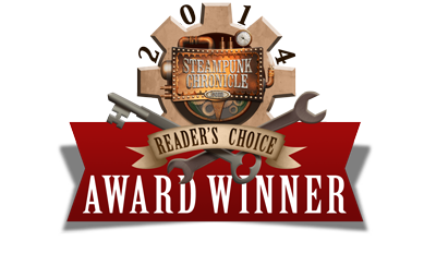 2014 Steampunk Reader's Choice Award Winner