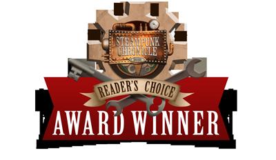 2014 Steampunk Reader's Choice Award Winner