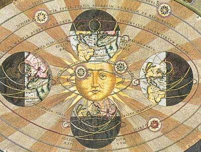 Print from Harmonia Macrocosmica, A. Cellarius (detail) [1660] (Public Domain Image)