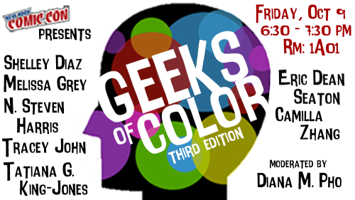 Geeks of Color 2015 logo